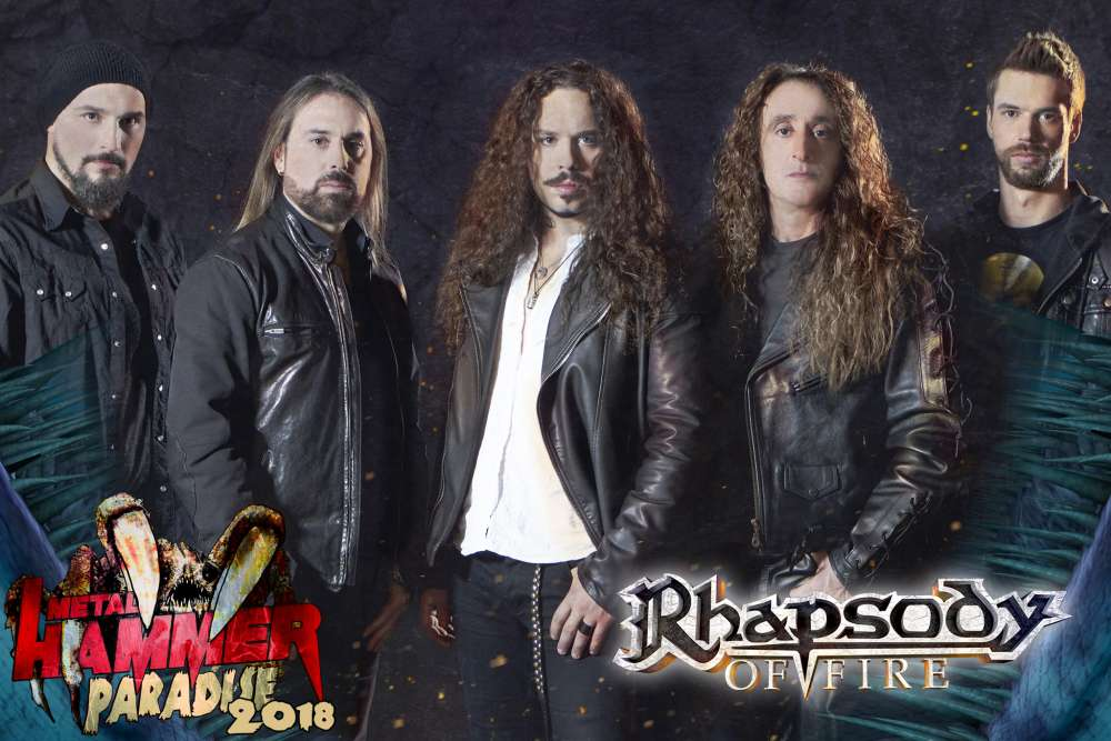 Rhapsody Of Fire @ Metal Hammer Paradise 2018