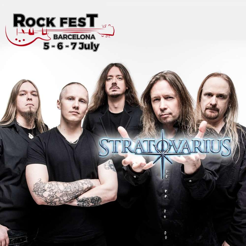 Stratovarius @ Rock Fest Barcelona 2018