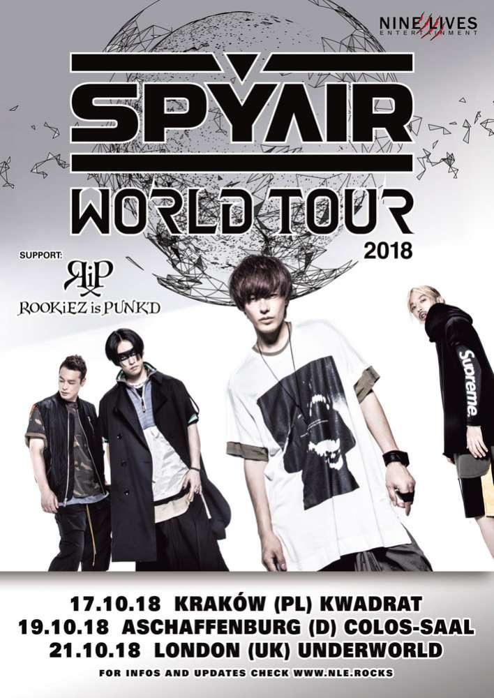 SPYAIR World Tour 2018