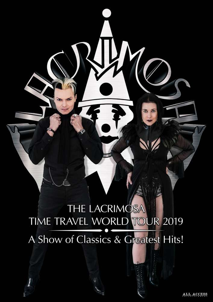 Lacrimosa TIME TRAVEL WORLD TOUR 2019