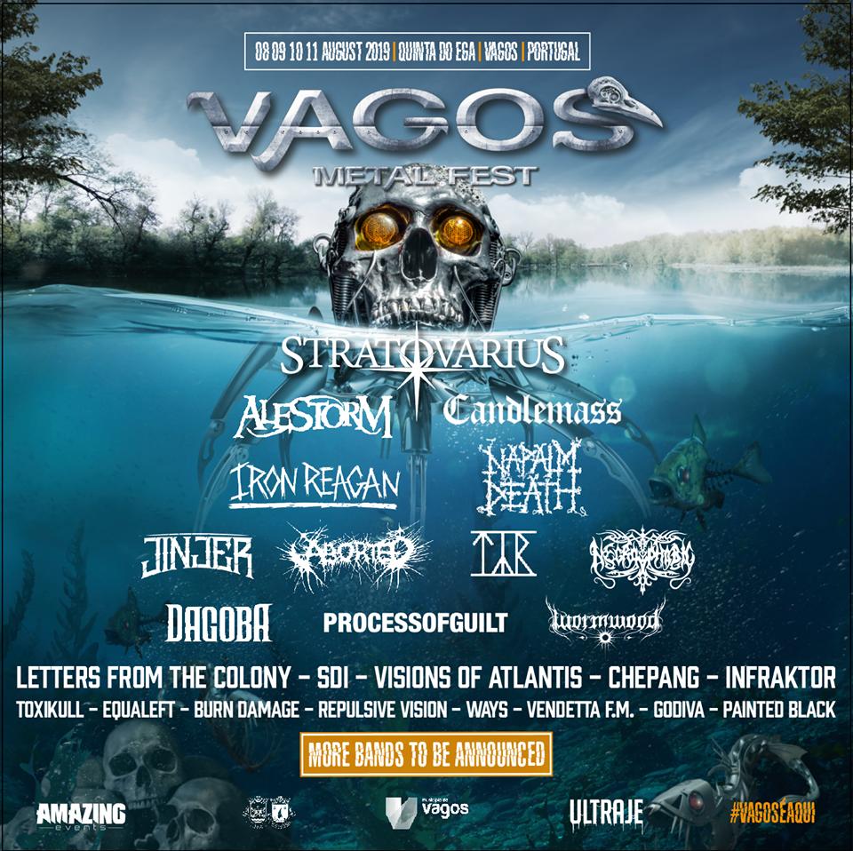 Stratovarius at  Vagos Metal Fest 2019