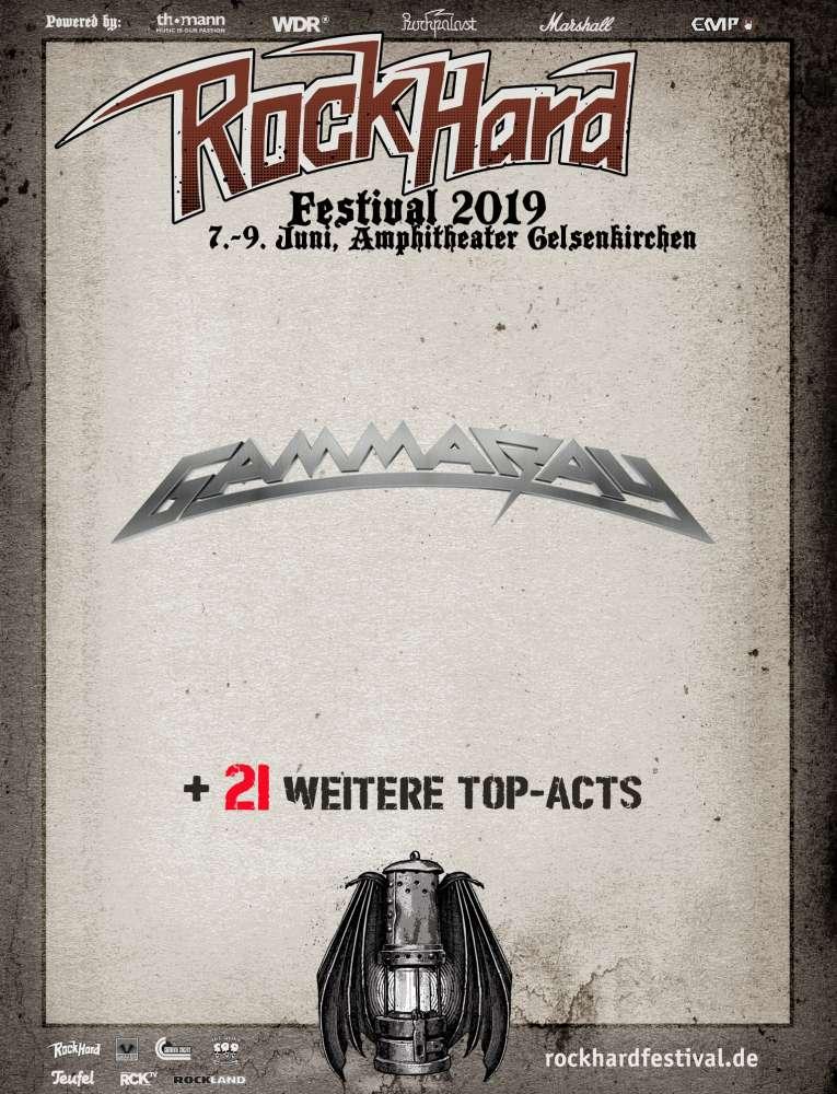 Gamma Ray @ Rock Hard Festival 2019