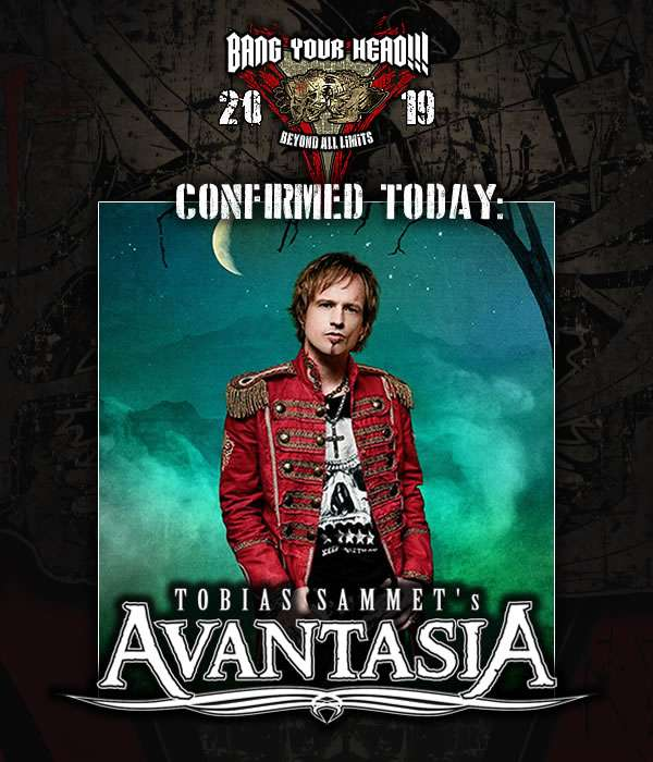 Tobias Sammet's Avantasia - Moonglow Tour 2019