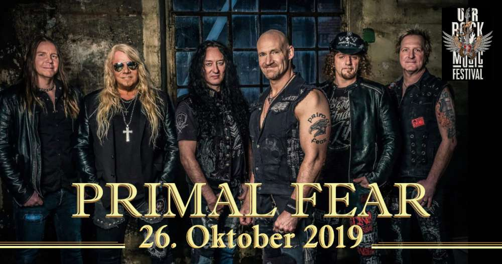 Primal Fear at UrRock Music Festival 2019