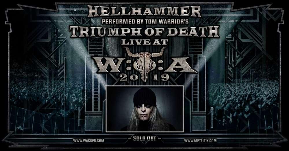Triumph of Death - Hellhammer at Wacken Open Air and Brutal Assault