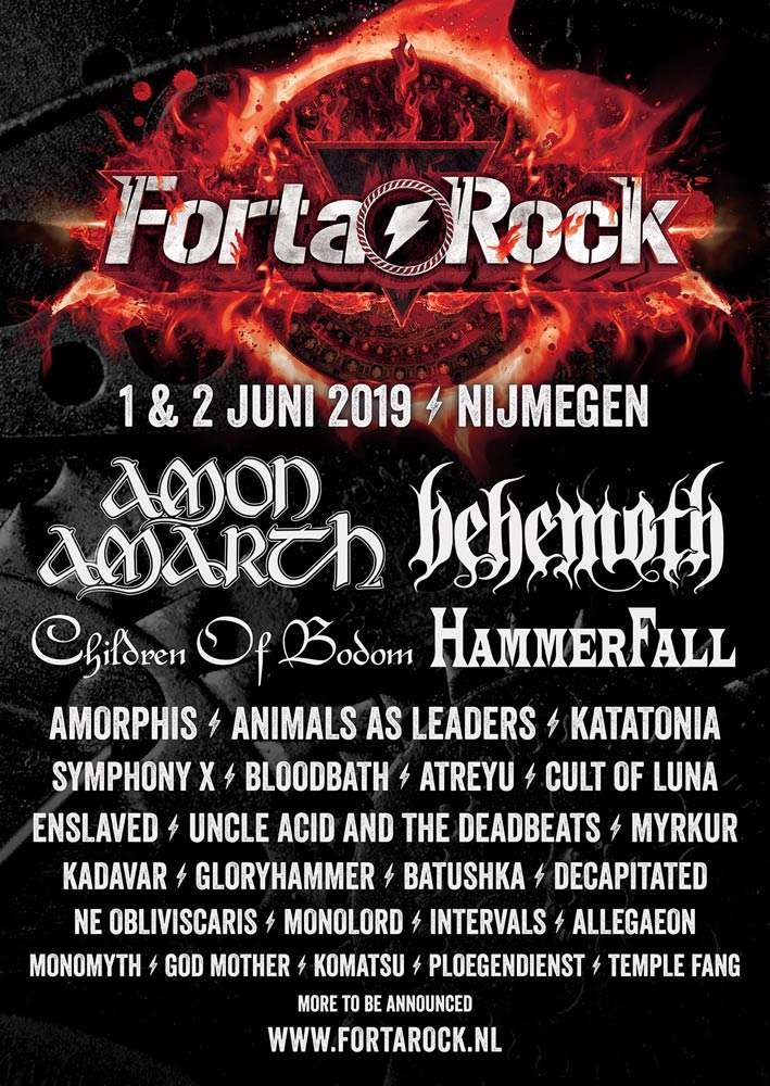 Hammerfall @ Fortarock 2019
