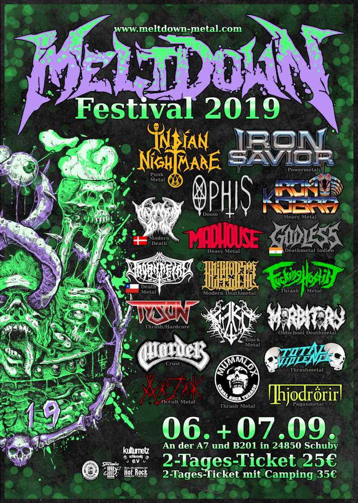 Iron Saviour @ Meltdown Festival 2019