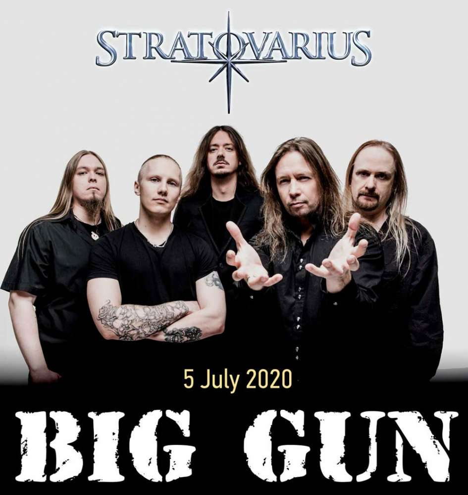 Stratovarius @ Big Gun Festival