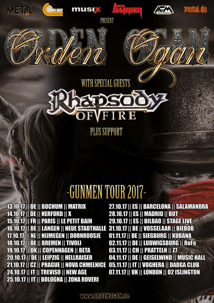 RHAPSODY OF FIRE vs ORDEN OGAN