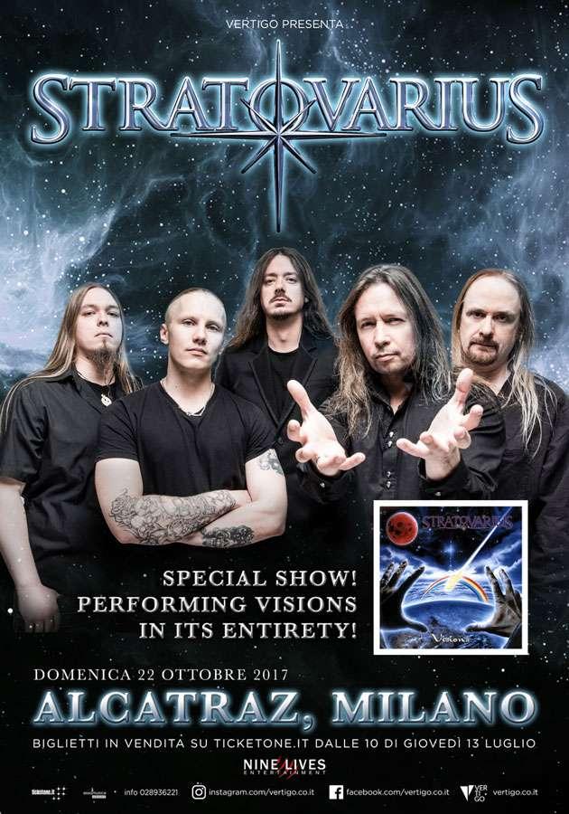 Stratovarius Show Milano