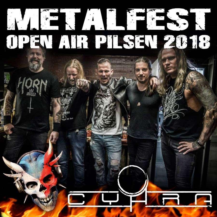 Cyhra at Metalfest 2018