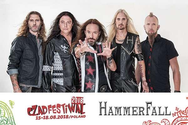 HAMMERFALL confirmed Czad Festival