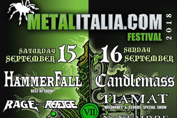 Hammerfall will rock Metalitalia 2018