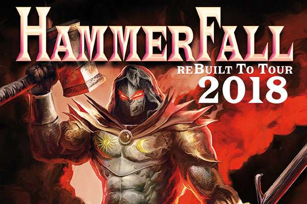 HAMMERFALL announce reBuilt To Tour 2018