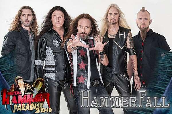 HammerFall confirmed for Metal Hammer Paradise 2018