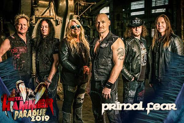 Primal Fear confirmed on Metal Hammer Paradise 2019