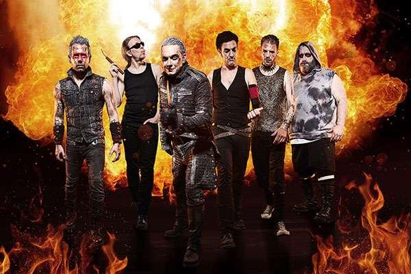 Feuerengel brennen Turbinenhalle mit Rammstein-Cover Show nieder